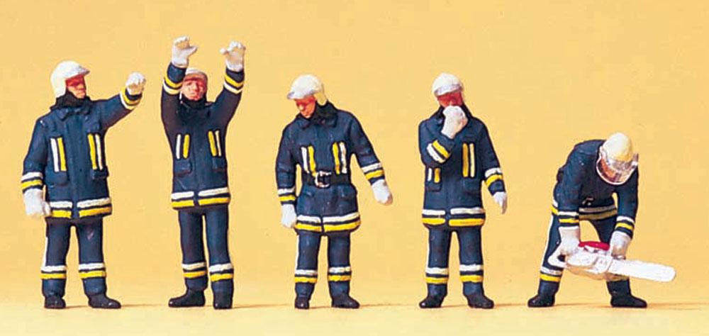 消防隊員 技術支援 :プライザー 塗装済完成品 HO(1/87) 10486