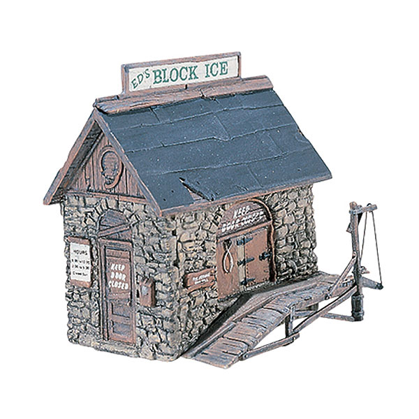 氷小屋 :ウッドランド 未塗装キット HO(1/87) D219