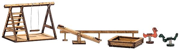 公園の遊具 :ブッシュ キット HO(1/87) 1485