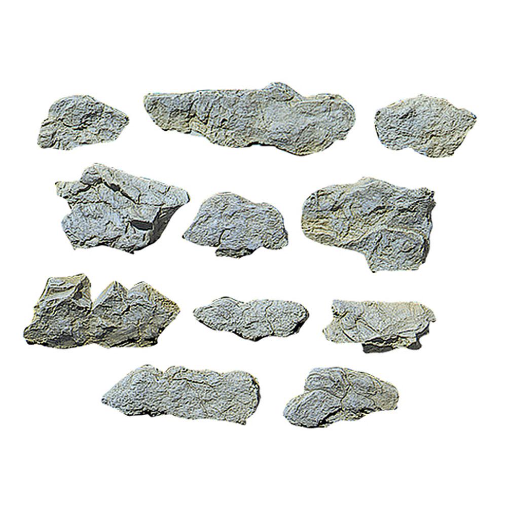 ロックモールド(岩の型) 表層部 :ウッドランド 素材 ノンスケール C1231
