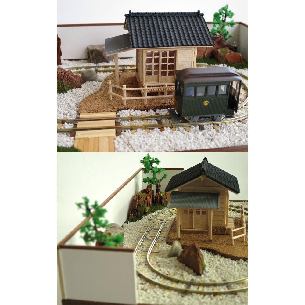 日本庭園 :昭和浪漫堂 塗装済完成品 1/87 スケール