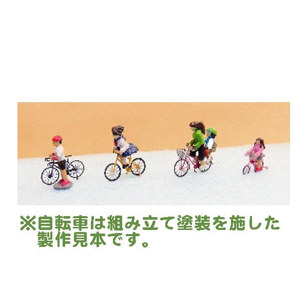 自転車にノッてる人 :こばる 半塗装済完成品 N(1/150) MF-27
