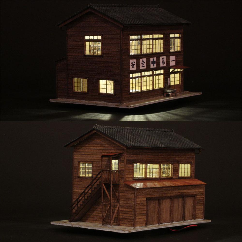 二階建て乗務員室 :匠ジオラマ工芸舎 塗装済完成品 HO(1/80) 1010