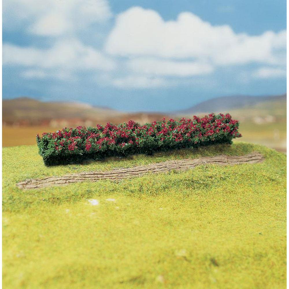 赤い花の生垣 :ファーラー 完成品 ノンスケール 181352