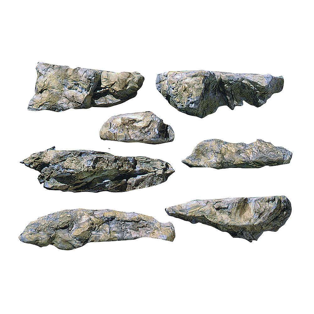 ロックモールド(岩の型) 岩壁 :ウッドランド 素材 ノンスケール C1233