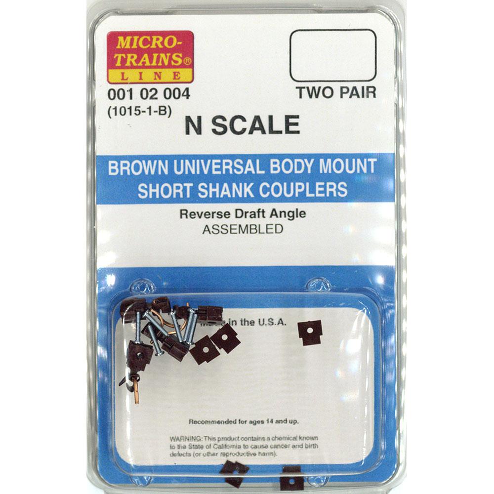 カプラー(連結器)ブラウン 1015-1-B :マイクロトレインズ 完成品 N(1/160) 102004