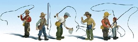 釣り人 :ウッドランド 塗装済完成品 HO(1/87) 1910