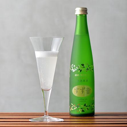 一ノ蔵 すず音 発泡清酒 普通酒 [300ml] 12本セット
