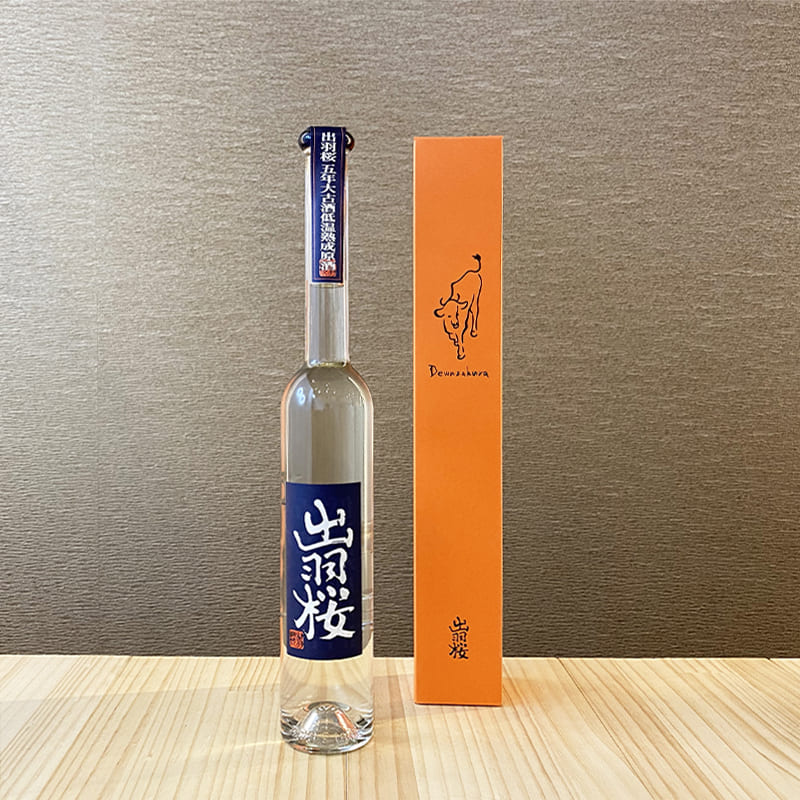 出羽桜 干支ボトル丑 特別本醸造 五年低温熟成原酒 [350ml]