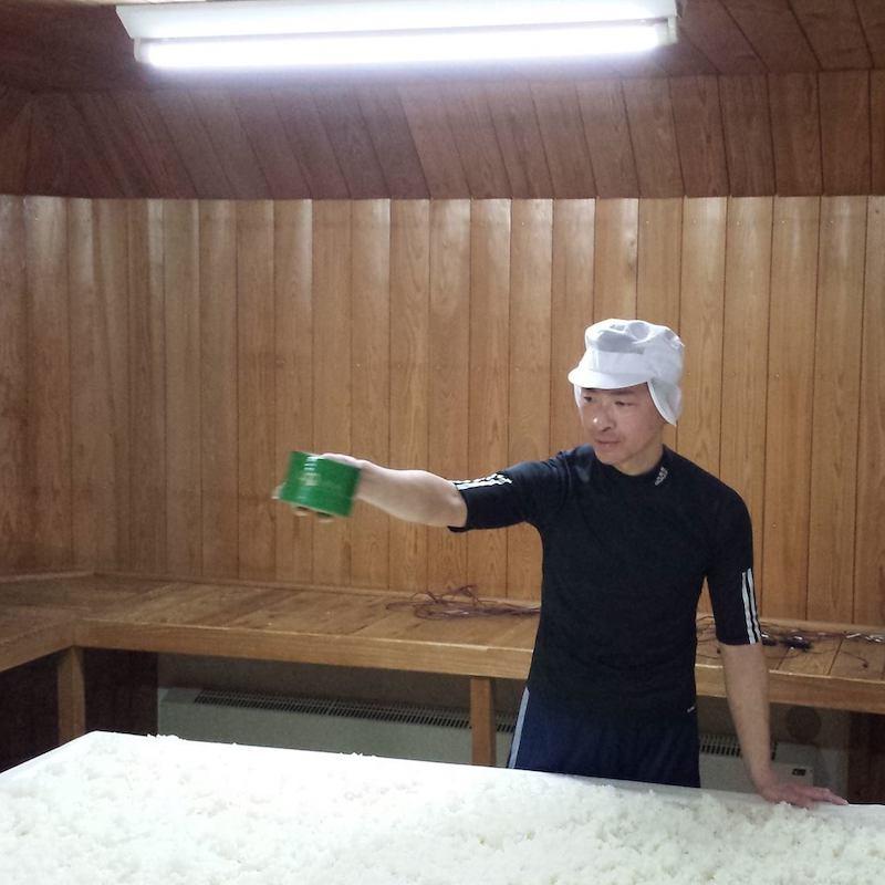 甲子林檎 きのえねアップル 生 純米吟醸酒 [1.8L]