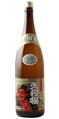 【芋焼酎】天狗櫻(てんぐざくら)25度 1800ml