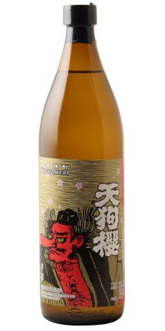 【芋焼酎】天狗櫻(てんぐざくら)25度 900ml