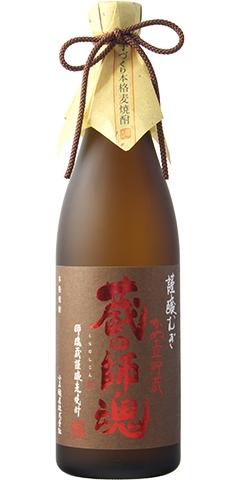 【麦焼酎】蔵の師魂(くらのしこん) 謹醸むぎ 720ml