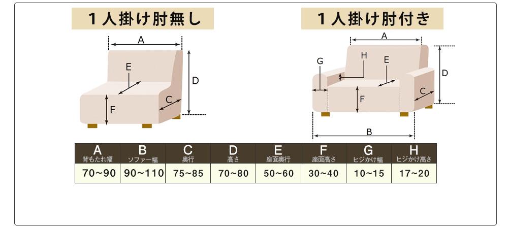 """""""""""""""撥水伸縮ソファーカバー"""""""""""""""