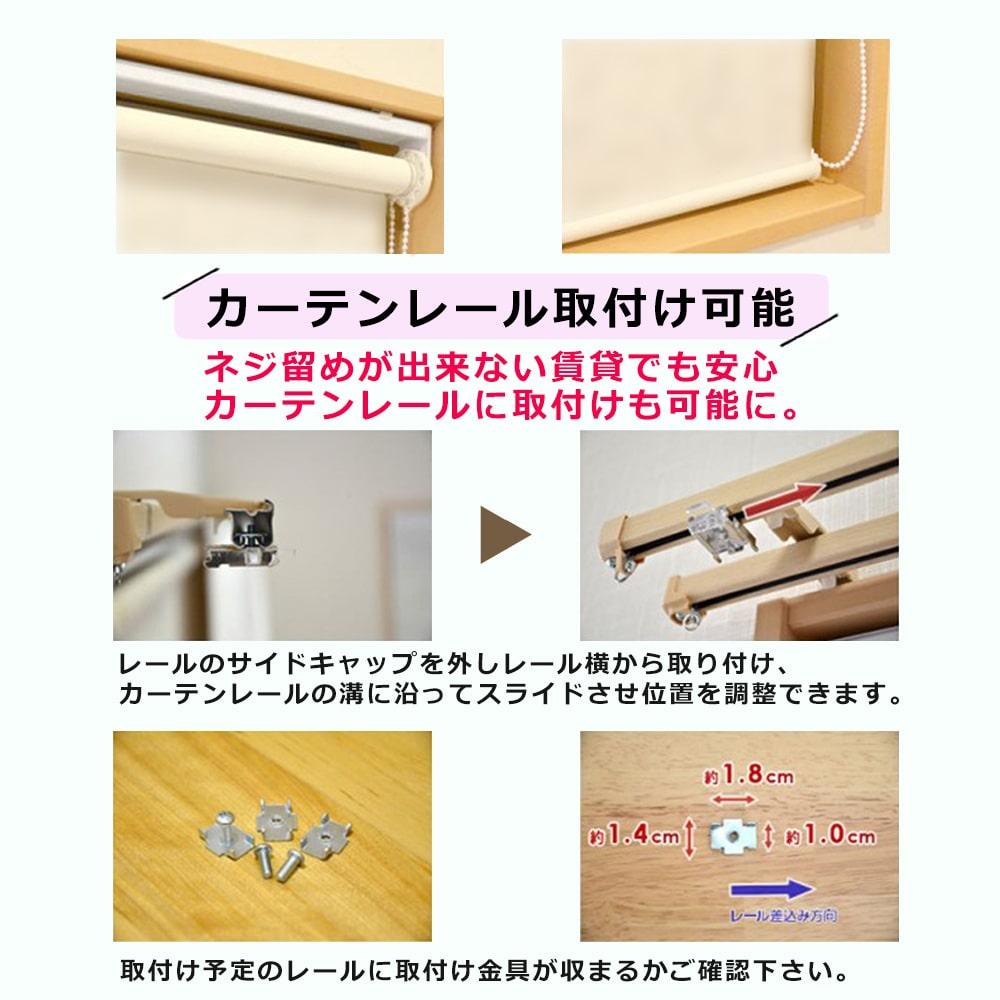 1級遮光ロールスクリーン オーダー対応 遮熱 断熱 保温 防炎 30カラーBOTANICAL
