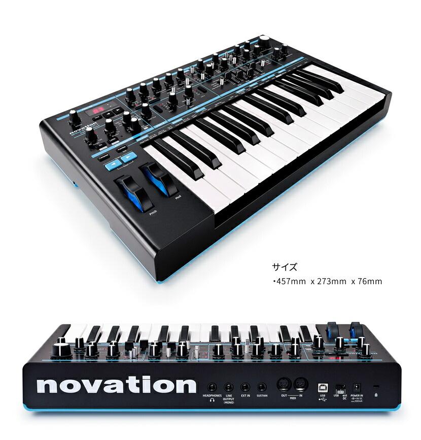 NOVATION シンセサイザー Bass Station II 【ノベーション アナログシンセ ベースステーション】*
