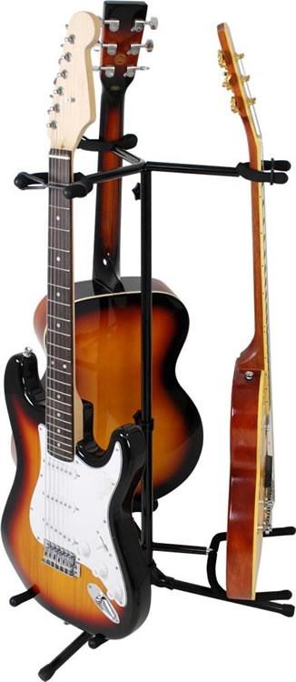 ギター/ベース スタンド 3本立てタイプ GS-003 【GS003】