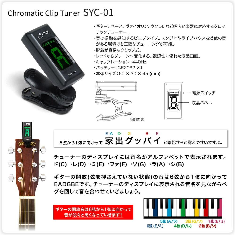 アコースティックギター S.Yairi YF-04 [サテン仕上げ] ライト入門セット【ヤイリ フォークタイプ YF04 ミディアムスケール ラウンドバック】【大型】