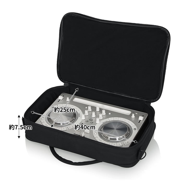 Gator Cases キャリングバッグ GK-1610 【ミニ鍵盤・MIDIコントローラー・エフェクター・DJプレイヤー用】【ゲーターケース GK2110】