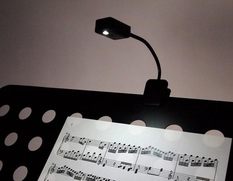 譜面台ライト グースネックタイプ KML-01 [2個セット] 【KML01 LEDライト】