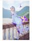 Re:ゼロから始める異世界生活 エミリア 風コスプレ 衣装  演出服 演出服 制服 靴 mlr1001