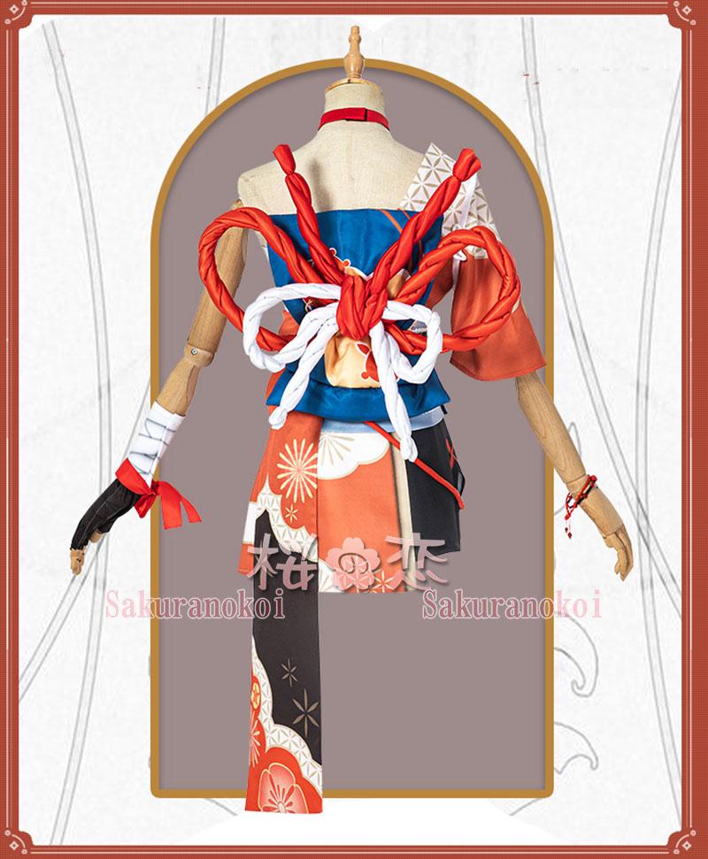 原神 げんしん genshin 稲妻 宵宮 よいみや コスプレ 衣装 cosplay イベント パーティー コスチューム 変装 仮装 mg081