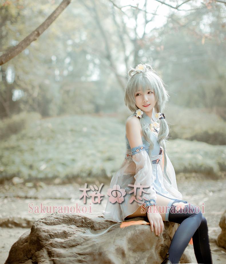 コスプレ衣装  VOCALOID3  風 洛天依 るぉてぃえんい  風コスチューム ハロウィン 文化祭 コミケ イベントuw518