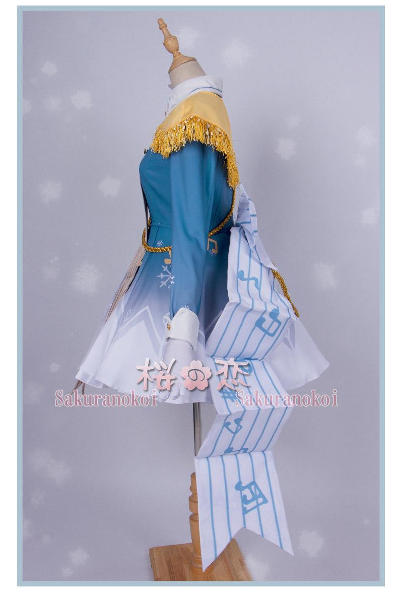 VOCALOID 初音 ミク 雪ミク SNOW MIKU 風 コスプレ衣装 変装 cosplay イベント パーティー コスチューム hhc205