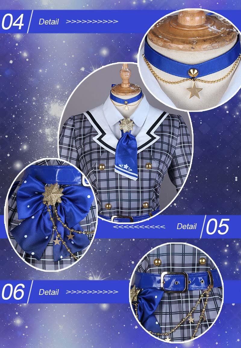 ホロライブ hololive 星街すいせい 彗星 ハロウィン コミケ イベント仮装 アニメ コスプレ衣装 y2856