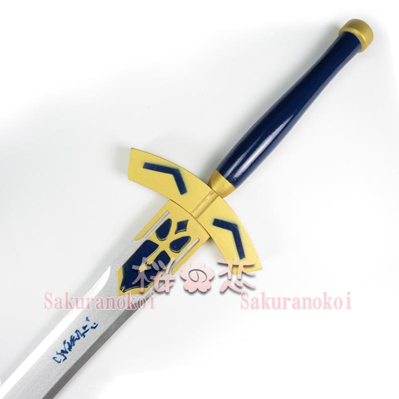 コスプレ道具 Fate GrandOrder フェイト グランドオーダー 風 saber 木製剣 イベント コスチュームdj002