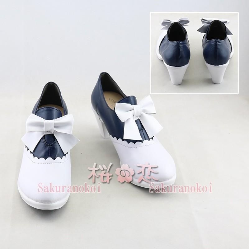 Fate Grand Order ブーツ 風 月の彼女 saber 風 イベント FGO コスチューム 変装 アニメ コスプレ靴  cz2036