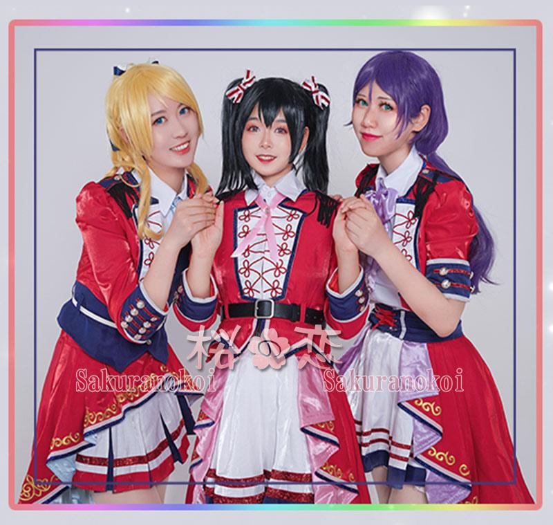LoveLive! Series 9th Anniversary ラブライブ!フェス μ's 東条希 とうじょうのぞみ 風 コスプレ衣装 y2769