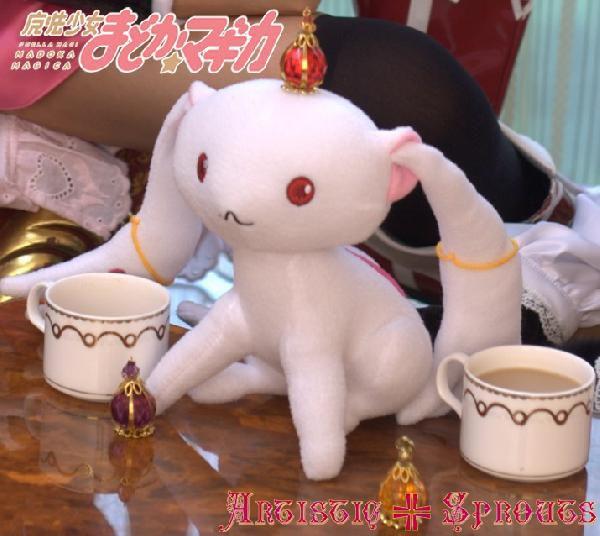 キャラアニ 魔法少女まどか☆マギカ キュゥべえ qb001