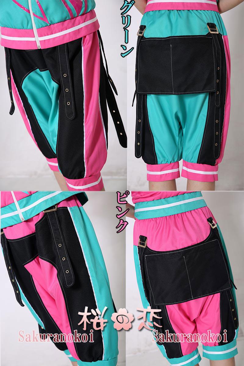 あんさんぶるスターズ! 双子ユニット 2wink グリーン×ピンク 葵ひなた 葵ゆうた コスプレ衣装/ジャージセットcdz001