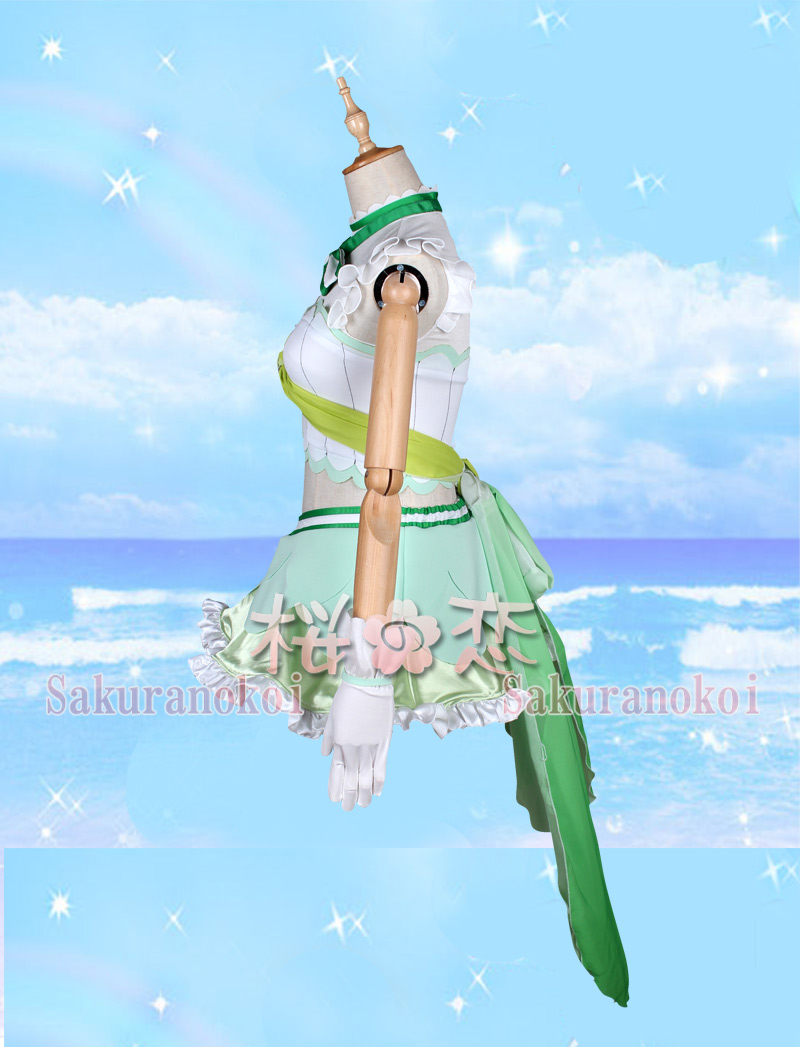 ラブライブ!サンシャイン!! lovelive  松浦果南  風   コスプレ衣装   浦の星女学院風   コスチューム コミケy1703