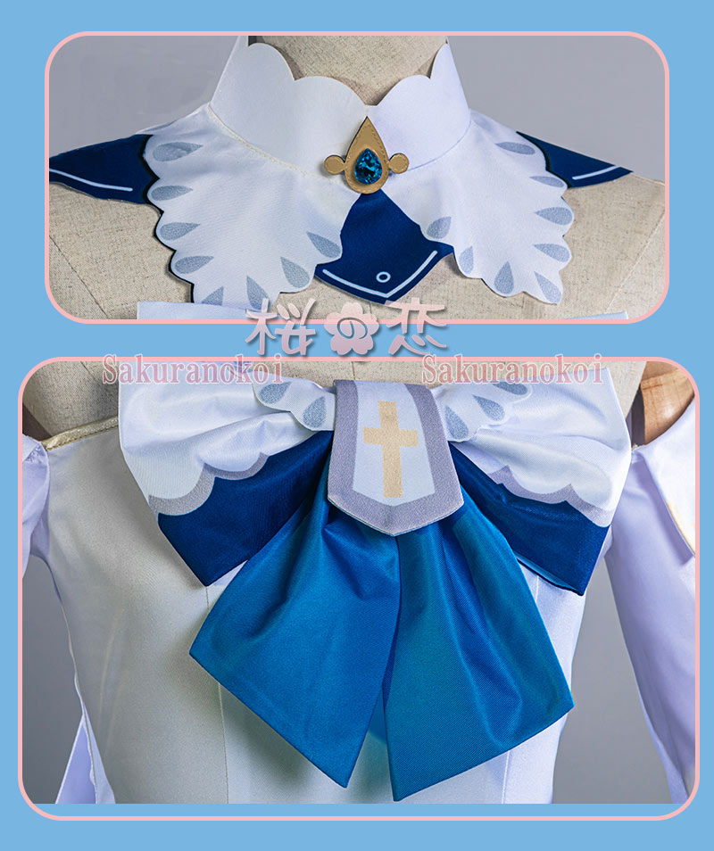 原神 げんしん genshin バーバラ コスプレ 衣装 cosplay イベント パーティー コスチューム 変装 仮装 mg022