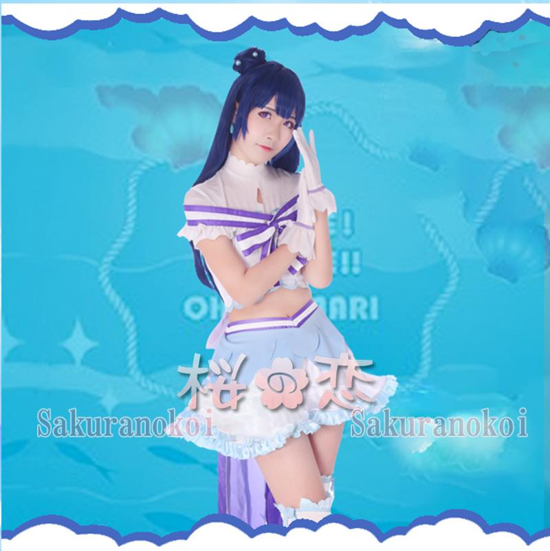 ラブライブ!サンシャイン!! lovelive  津島   風   コスプレ衣装   浦の星女学院風   コスチューム コミケy1706