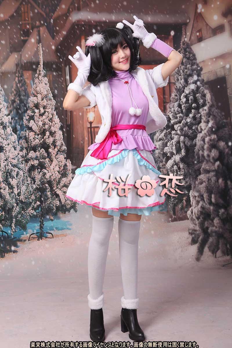 一部即納 ラブライブ コスプレ スノハレ 矢澤にこ LoveLive! Snow halation μ's スノーハレーション スノハレ各キャラクター変更可 コスプレ衣装 cn013