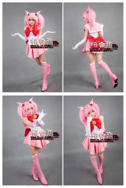 受賞セール対象  コスプレ衣装 美少女戦士セーラームーン風 デザイン☆ちびうさ tnm08
