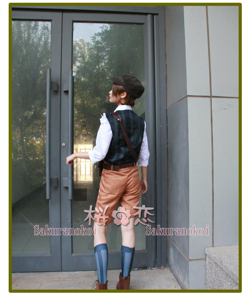 IdentityV 第五人格 コスプレ衣装  傭兵 ナワーブ・サベダー スプリング 風 仮装 変装 コスチューム イベントxy001
