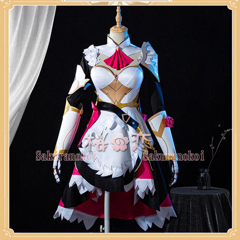原神 げんしん genshin ノエル Noelle コスプレ 衣装 cosplay イベント パーティー コスチューム 変装 仮装 mg056