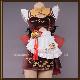 原神 げんしん genshin 香菱 シャンリン  メイド コスプレ 衣装 cosplay イベント パーティー コスチューム 変装 仮装 uw1508