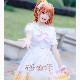 LoveLive! 《A song for you! you? you!》ラブライブ!フェス μ's 高坂穗乃果 こうさか ほのか コスプレ衣装 y2781-1