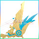 原神 げんしん genshin 天空の翼 コスプレ 道具 剣 cosplay イベント パーティー 変装 仮装 アニメ smdj021