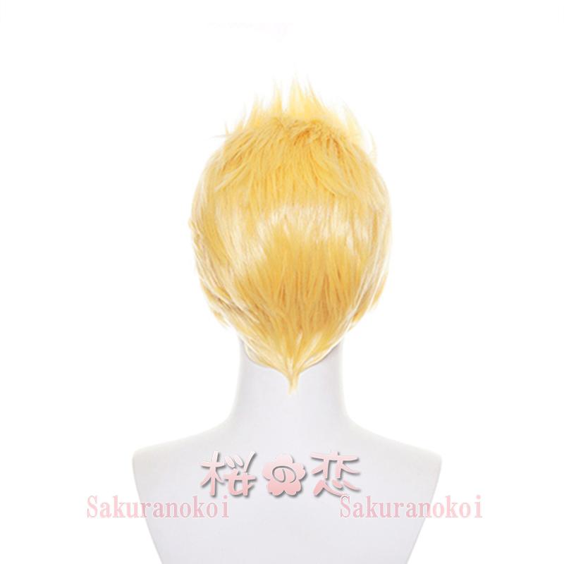 東京卍リベンジャーズ 風  花垣 武道(はながき タケミチ)ウィッグ ステージ ハロウィン qw3314