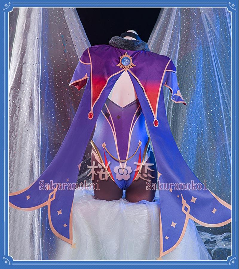 原神 げんしん genshin  莫娜 もな モナ コスプレ 衣装 cosplay イベント パーティー コスチューム 変装 仮装 mg031