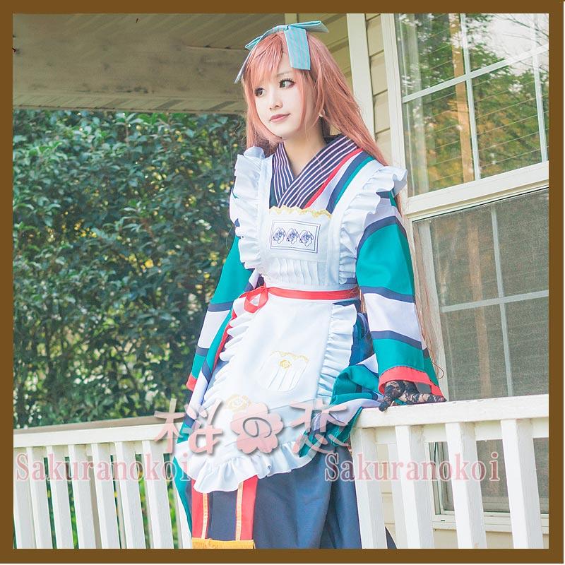 コスプレ衣装 ローゼンメイデン  翠星石風 コスチューム イベント パーティーhs003