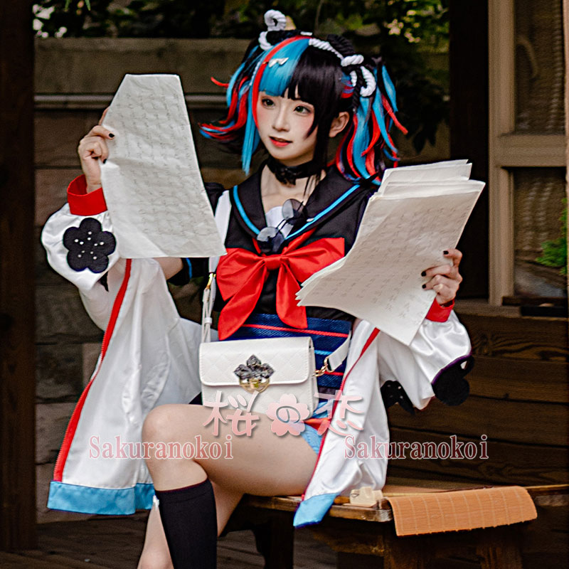Fate Grand Order コスプレ 清少納言 フェイト グランドオーダー コスプレ衣装 FGO 演出服 アニメIC1001