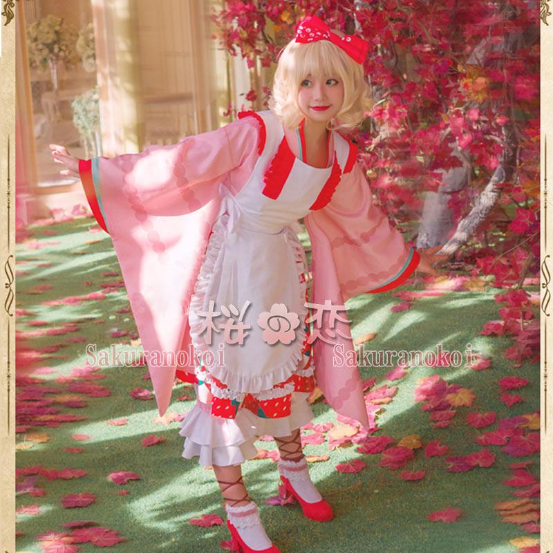 コスプレ衣装 ローゼンメイデン  雛苺 風 ひないちご Kleine Beere  風 コスチューム イベント パーティーhs005