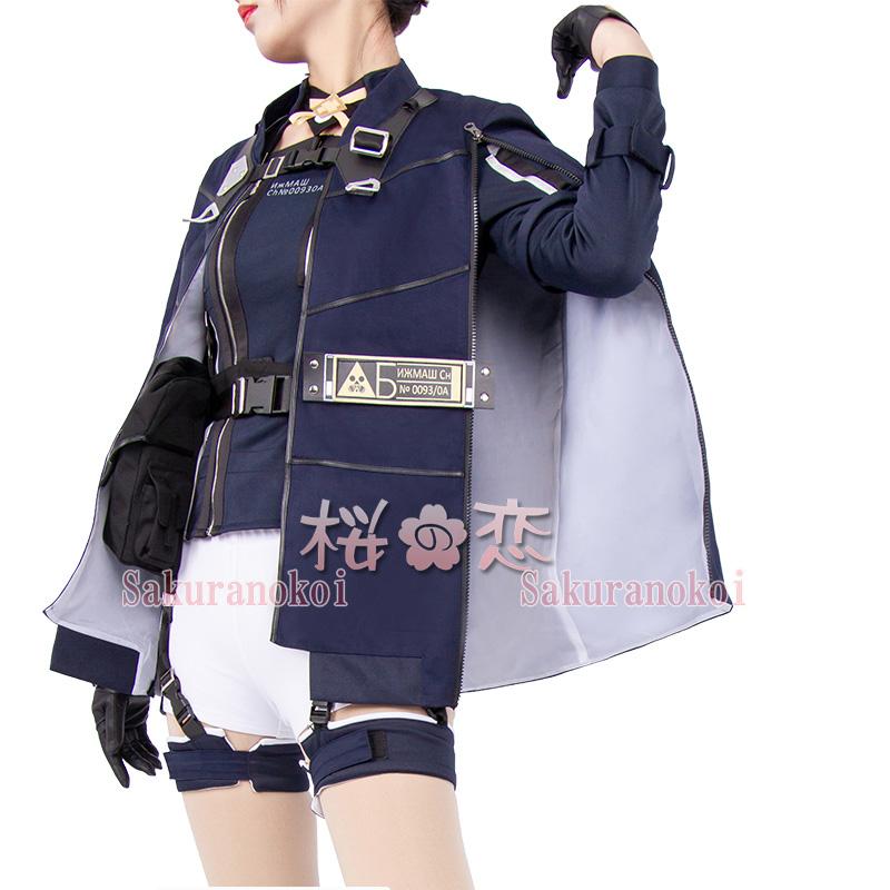 ドールズフロントライン 少女前線 AN-94 風 戦闘服 コスプレ衣装 しょうじょぜんせん コスチューム コミケイベント 変装hhc0874